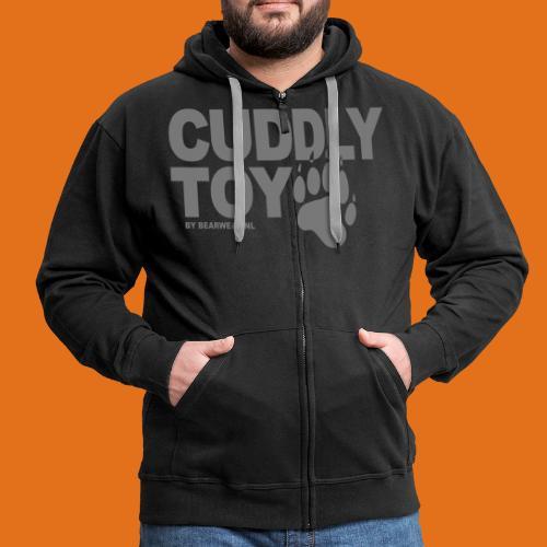 cuddly toy new - Men's Premium Hooded Jacket