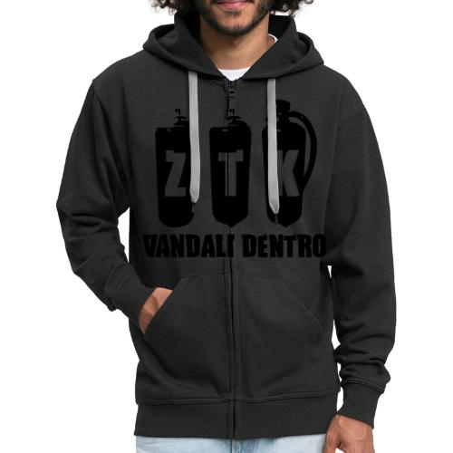 ZTK Vandali Dentro Morphing 1 - Men's Premium Hooded Jacket