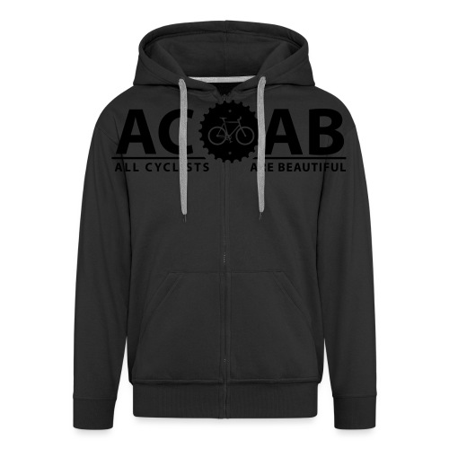 ACAB All Cyclists Are Beautiful T-Shirts - Männer Premium Kapuzenjacke