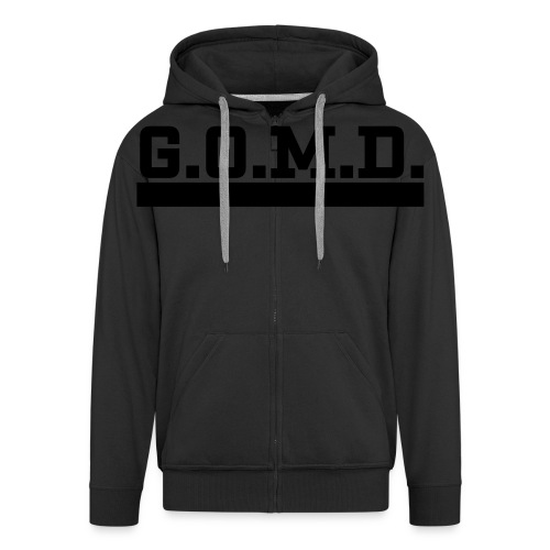 G.O.M.D. Shirt - Männer Premium Kapuzenjacke