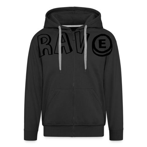 Rave E - Men's Premium Hooded Jacket