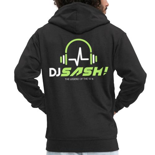 DJ SASH! - Headfone Beep - Men's Premium Hooded Jacket