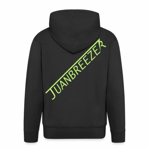 Juanbreezer Logo - Mannenjack Premium met capuchon