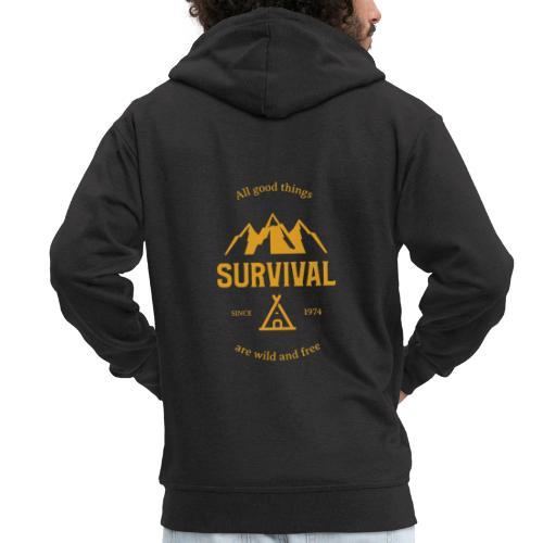 Survival - Männer Premium Kapuzenjacke