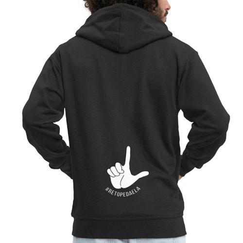 Dedo Big - #RetoPedaEla - Chaqueta con capucha premium hombre