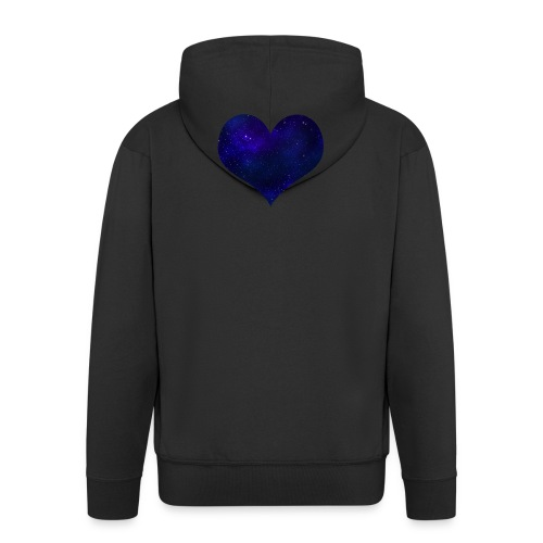 Love from outer space - Men's Premium Hooded Jacket