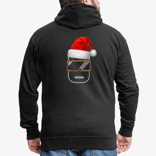 Die Zock Stube - Robot-Head Christmas - Männer Premium Kapuzenjacke