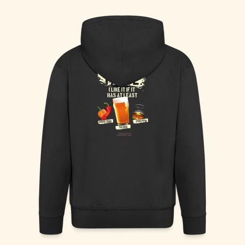 Whiskey Chili Craft Beer SHU IBU PPM - Männer Premium Kapuzenjacke