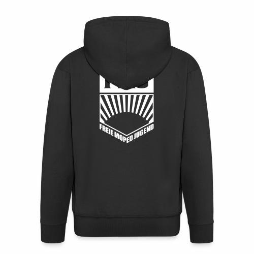 Freie Moped Jugend FDJ Parodie (1c) - Men's Premium Hooded Jacket