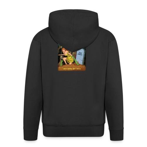Jesus Complex - Live A Little, Die A Little - Mannenjack Premium met capuchon