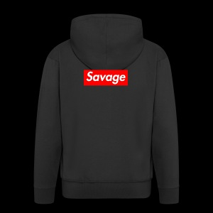 SavageDamian - Mannenjack Premium met capuchon