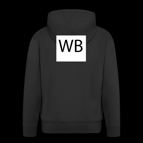 WB Logo - Männer Premium Kapuzenjacke