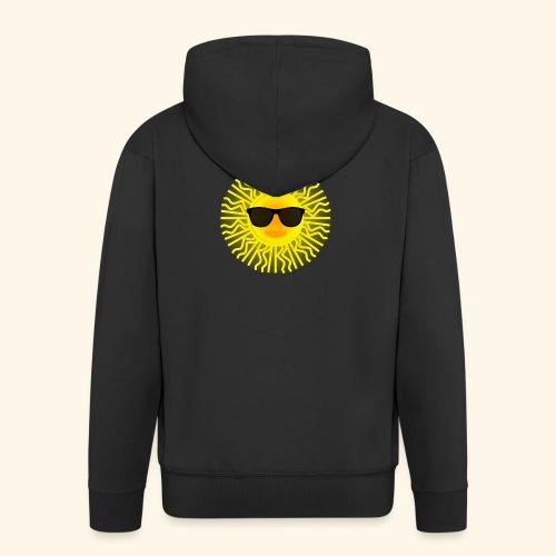 Sol de Canarias - Chaqueta con capucha premium hombre