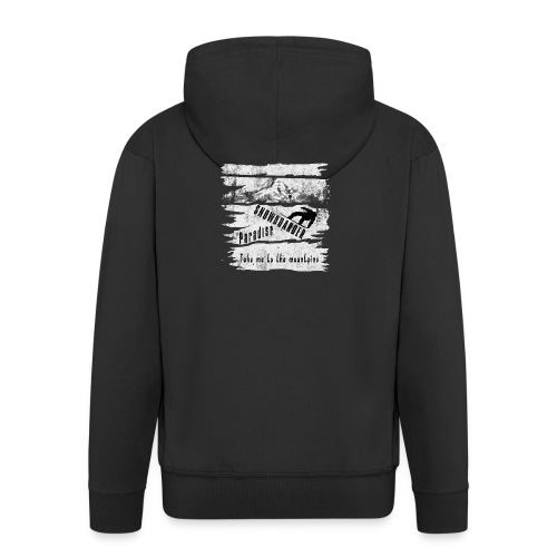Snowboarder Paradise - Männer Premium Kapuzenjacke