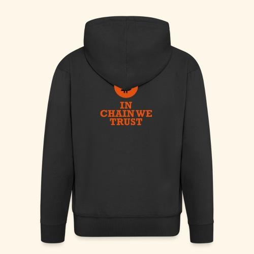 Bitcoin: In chain we trust - Männer Premium Kapuzenjacke