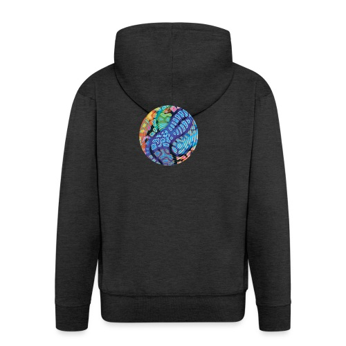 concentric - Men's Premium Hooded Jacket