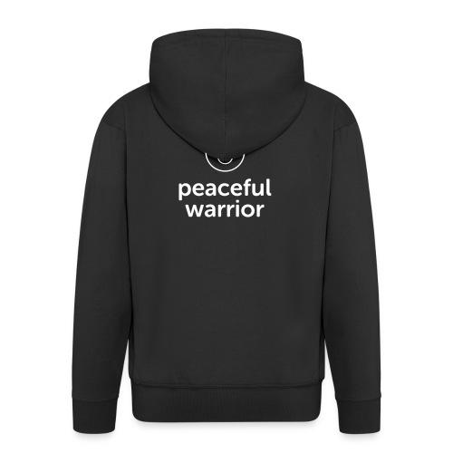 peaceful warrior - Männer Premium Kapuzenjacke