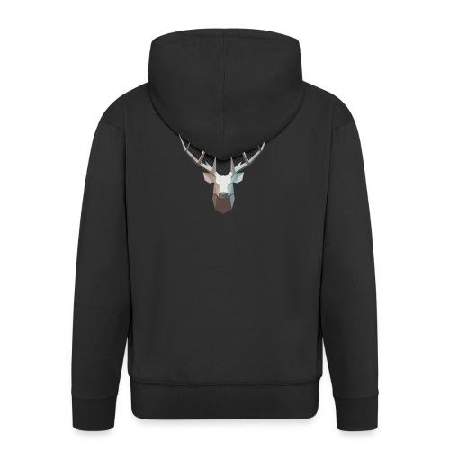 stag - Men's Premium Hooded Jacket