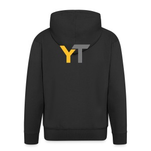 Yogii Tube - Men's Premium Hooded Jacket
