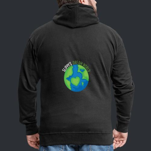 Slippy's Dream World Small - Men's Premium Hooded Jacket