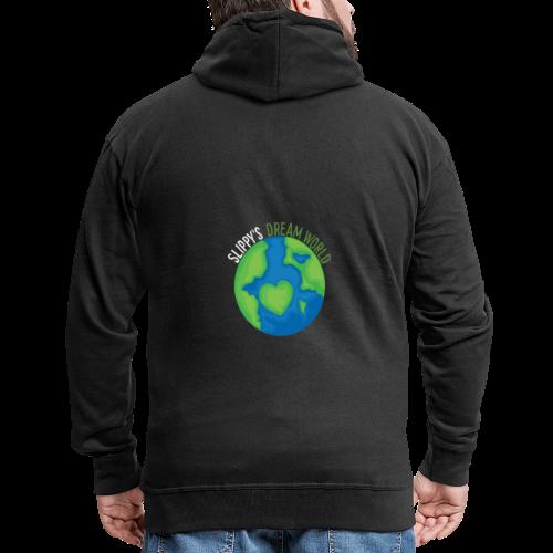 Slippy's Dream World Small - Men's Premium Hooded Jacket