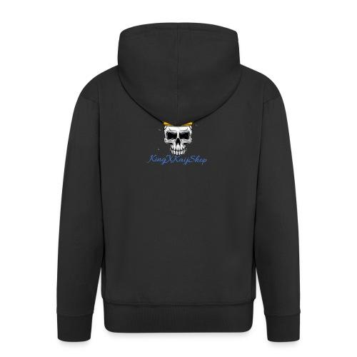 KingKaij Logo - Männer Premium Kapuzenjacke