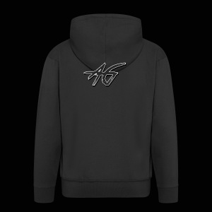 AG logo - Men's Premium Hooded Jacket