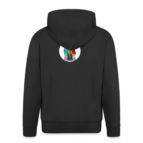 Roygbiv - Men's Premium Hooded Jacket
