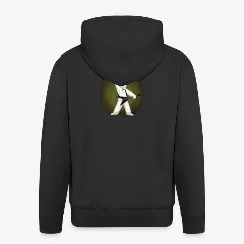 Metal Bunny - Premium Hettejakke for menn