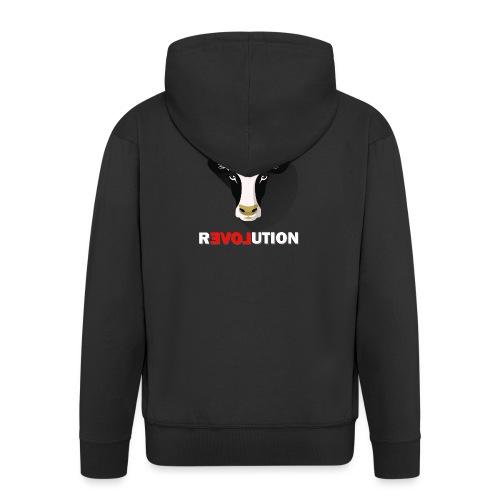 Vegan Revolution - Veste à capuche Premium Homme
