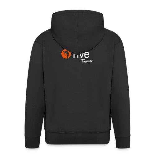 Logo five-Trainer - Männer Premium Kapuzenjacke