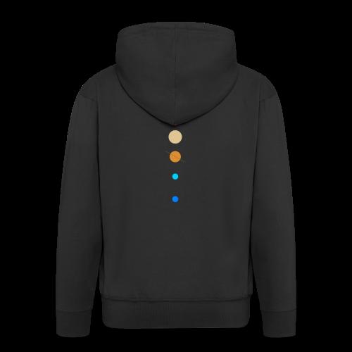 Sonnensystem - Männer Premium Kapuzenjacke