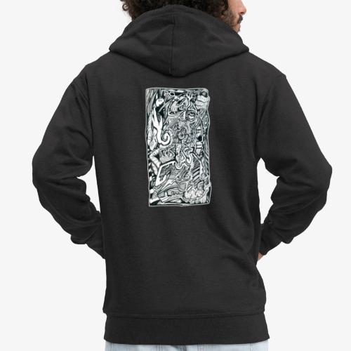 Anxiety Trip - Men's Premium Hooded Jacket
