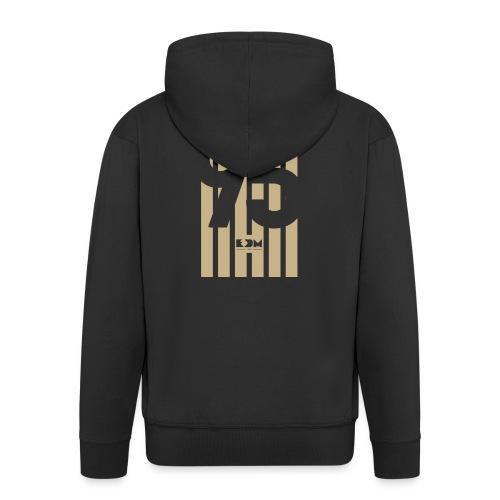 Bryan - Felpa con zip Premium da uomo