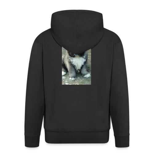 Kolekcja Kazan - Rozpinana bluza męska z kapturem Premium