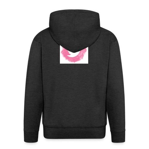 pink twitt - Men's Premium Hooded Jacket