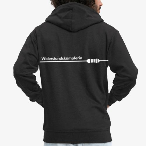 WiderstandskaempferIN - Männer Premium Kapuzenjacke