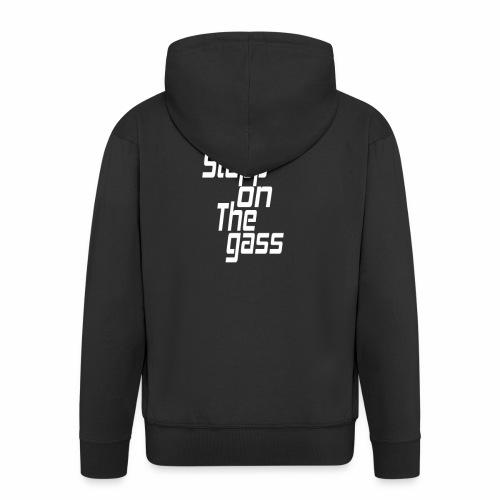Stapp On The Gass Design - Mannenjack Premium met capuchon