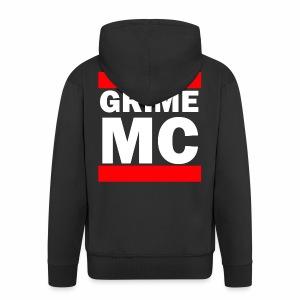 GRIME MC - Men's Premium Hooded Jacket