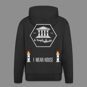 I WEAR HOUSE - Jackets - Men's Premium Hooded Jacket