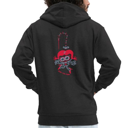 Stitched Woman - Men's Premium Hooded Jacket