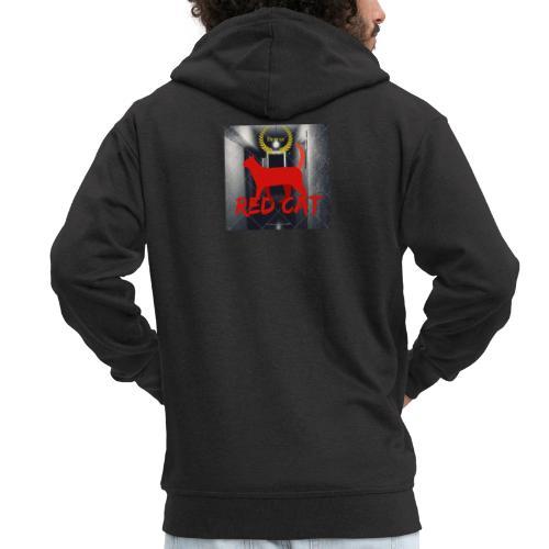 Red Cat (Deluxe) - Men's Premium Hooded Jacket