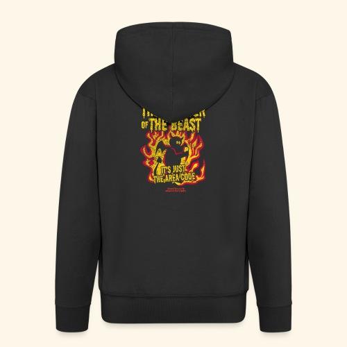 666 Is Not The Number Of The Beast T Shirt - Männer Premium Kapuzenjacke
