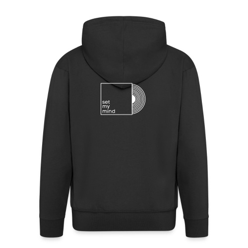 Set My Mind Logo - Männer Premium Kapuzenjacke