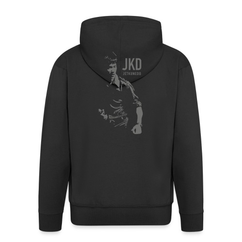 JKD - Felpa con zip Premium da uomo
