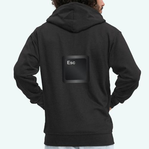 Escape - Männer Premium Kapuzenjacke