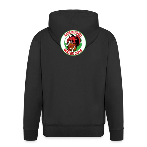 Eurobowl Wales 2018 - Men's Premium Hooded Jacket