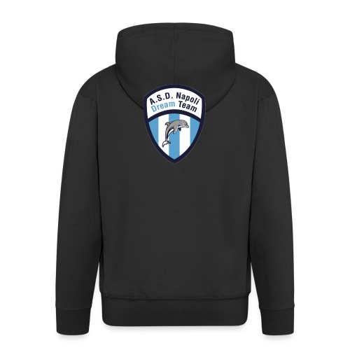 NDT logo - Felpa con zip Premium da uomo