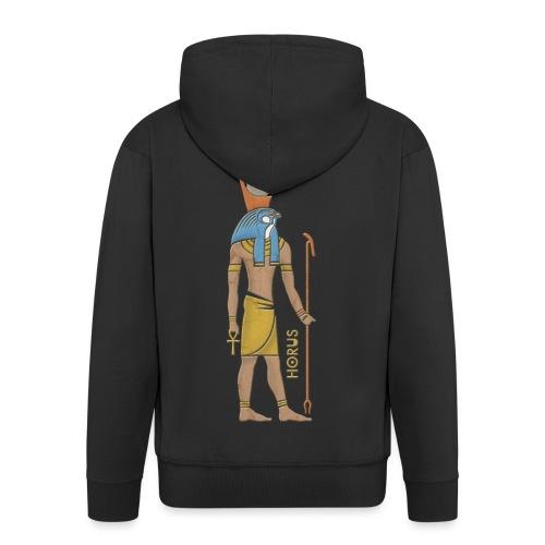 Horus I altägyptische Gottheit - Männer Premium Kapuzenjacke