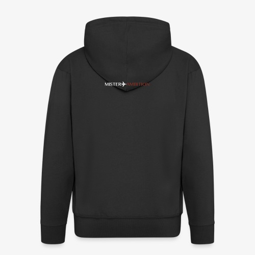 Red White - Men's Premium Hooded Jacket